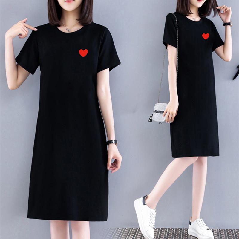 胖mm连衣裙遮肚子显瘦2020夏装新款大码女装韩版宽松减龄洋气裙子