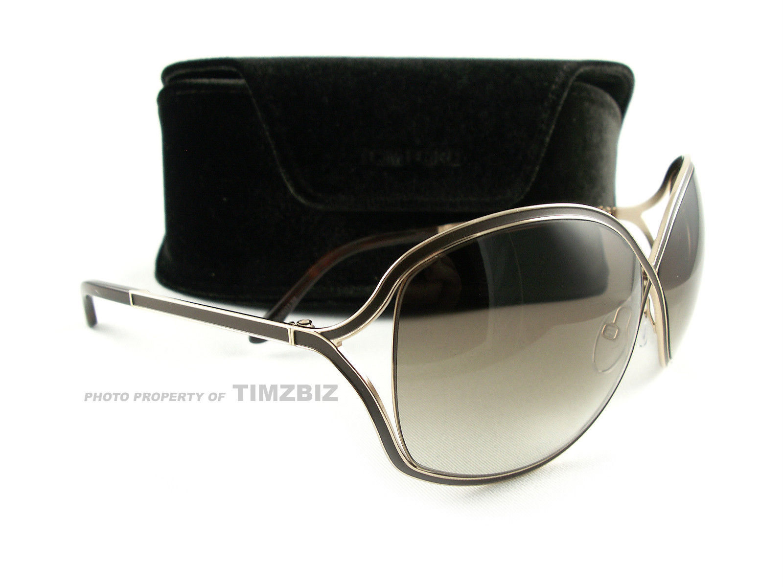 Tom Ford Sunglasses tf179 rich 48 f golden brown ft0179 / s sunglasses men and women personality