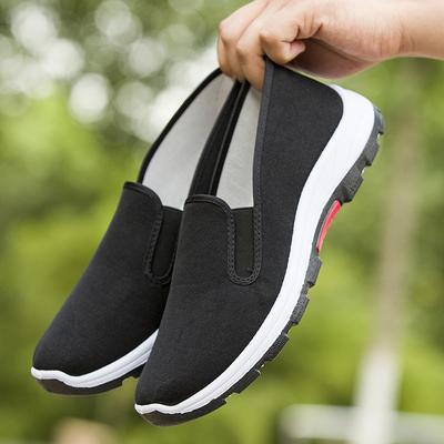 男鞋2020新款秋季老北京布鞋男鞋子男士休闲跑步鞋百搭帆布潮鞋