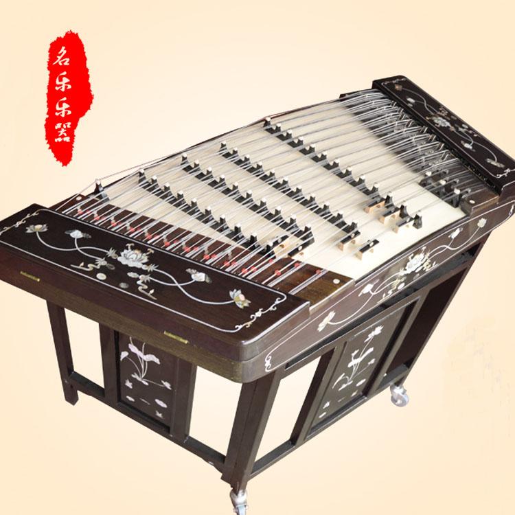 Heng Le Chicken крыло деревянная оболочка сказочная фея Ян Цинь профессиональная игра 402 dulcimer музыкальный инструмент Factory direct lotus dulcimer