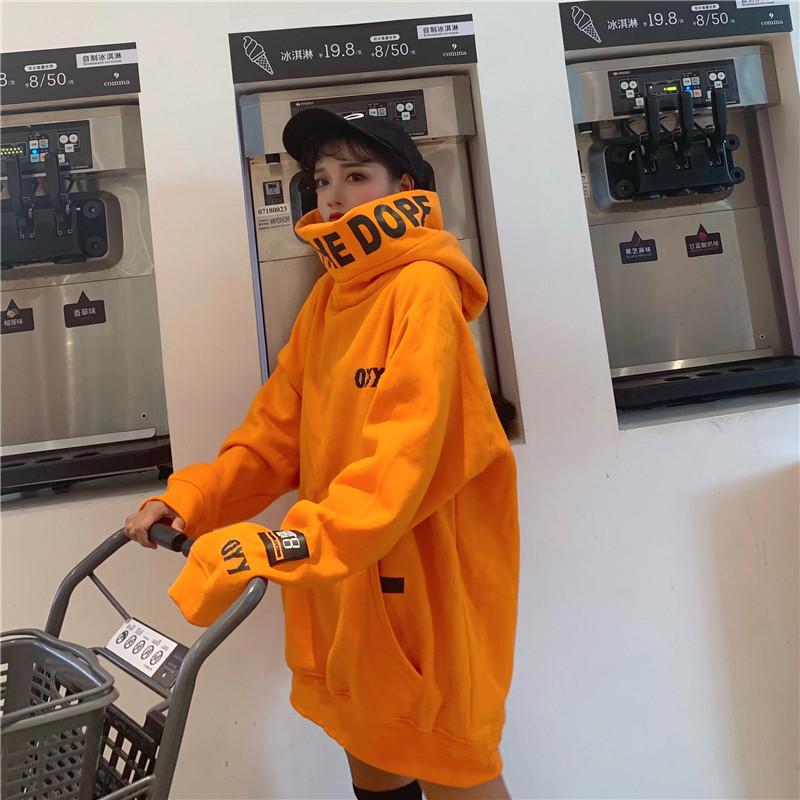 情侣冬季2019新款韩版原宿风卫衣