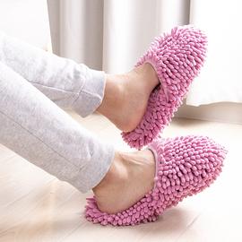 信至尚可机洗雪尼尔吸水防滑懒人擦地板拖鞋居家扫地拖地清洁抹布