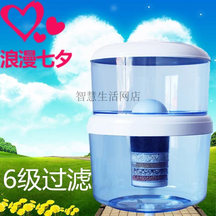 饮水机过滤桶立式冷热家用自来水净水器直饮带桶净化一体机净水桶