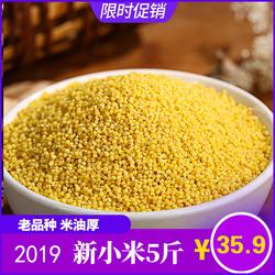 朝阳小米脂黄小米2020新米小黄米特级东北杂粗粮米脂黄小米5斤