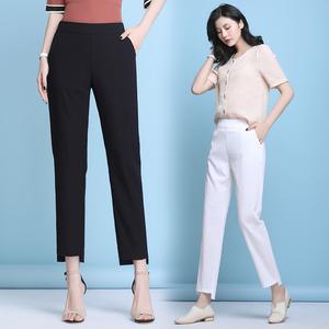 领20元券购买棉麻裤子女夏季2020新款韩版休闲裤