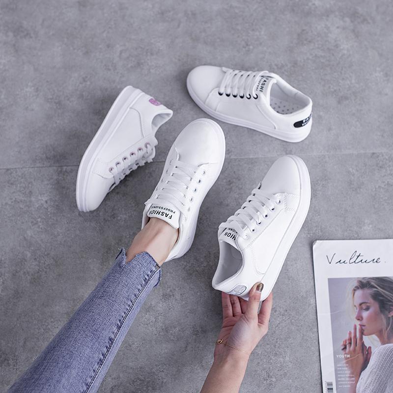 百搭小白鞋2021春季新款ins女鞋怎么样