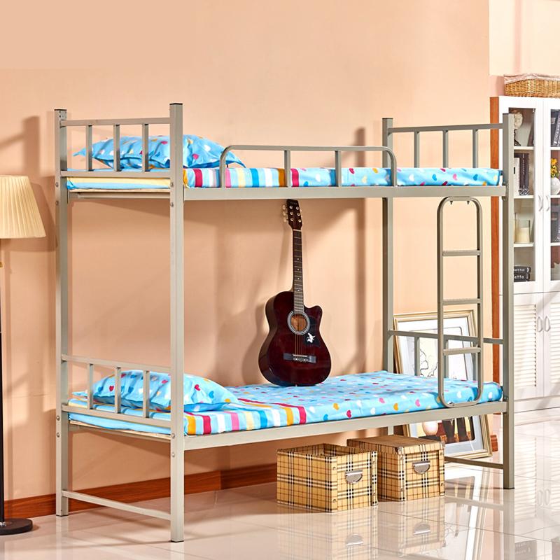 学生员工宿舍上下铺双层高低铁艺床满350.00元可用1元优惠券