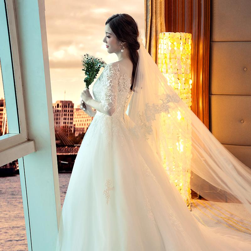 网红抖音婚纱