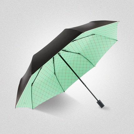 杰尼伦 六瓣花 手动折叠晴雨伞 19.9元包邮