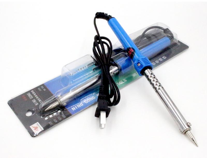 Бытовой электрический железо установите термостатический DIY бритва служба олово сварка иностранных горячей стиль инструмент большой мощности 60W бесплатная доставка