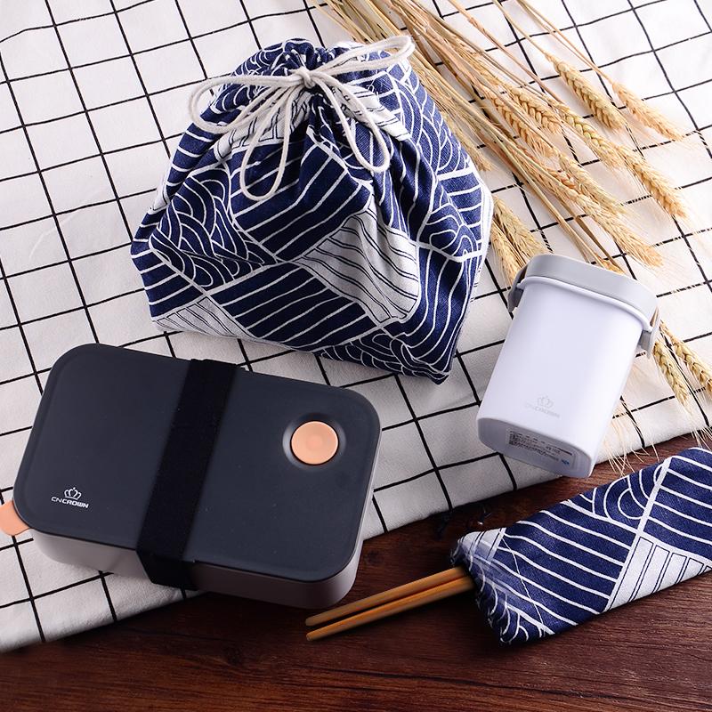 日式塑料�W生保�仫�盒成人��颖惝�盒可微波�t分格�坌募�岵秃�