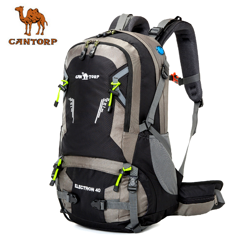 Camel mountaineering bag outdoor travel bag men's and women's backpack hiking bag outdoor backpack 40L 50L