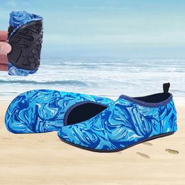 夏季沙滩鞋儿童防滑速干涉水鞋女游泳浮潜鞋潜水鞋男软底漂流鞋袜图片