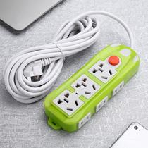 家用多功能电源插座多孔插排排插板带线接线板拖线板插线板延长线