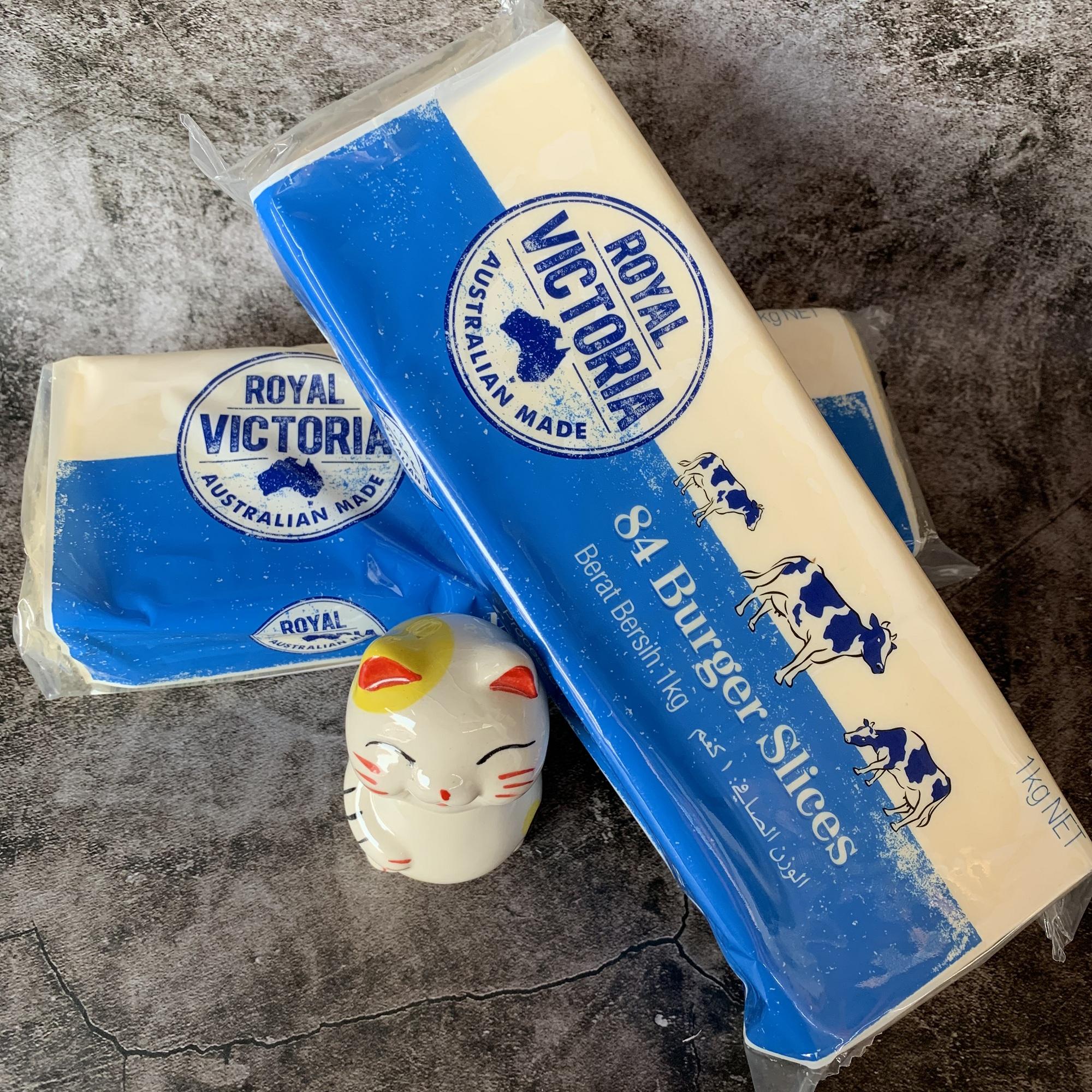 澳大利亚进口 维多利亚白色芝士片 维多利亚芝士片84片早餐三明治(非品牌)