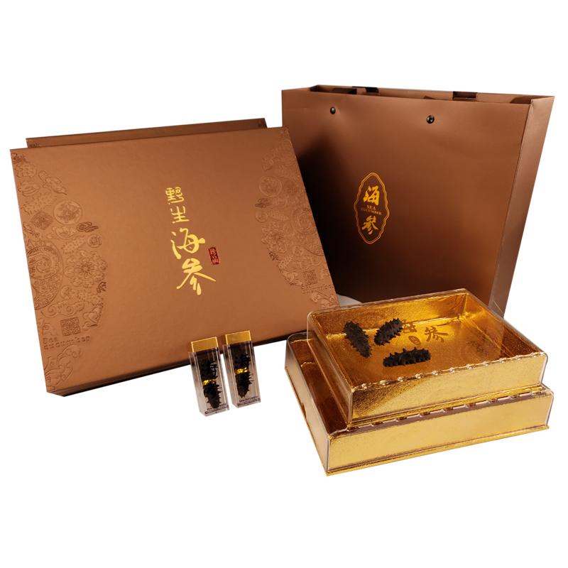 双月海参礼盒高档空盒海参礼品盒(用1元券)