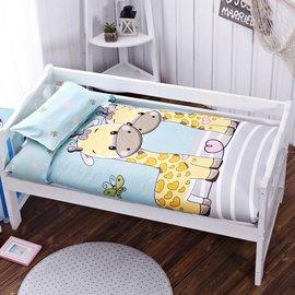 全棉纯棉多件套幼儿园午睡套件宝宝亲肤被子卡通小清新婴童六件套