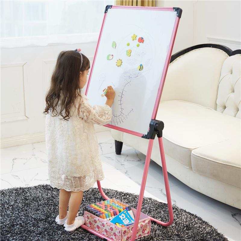 Ребенок записная книжка отмены дуплекс магнитный граффити кронштейн небольшой классная доска домой запись белая доска ребенок изучение
