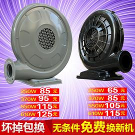充气拱门风机 卡通气模鼓风机庆典婚庆双龙厨房彩虹门铁风机550W图片