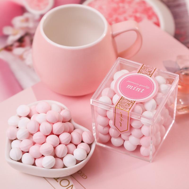 美食小栈香体糖女吐息约会随身少女持久接吻糖网红润喉无糖薄荷糖