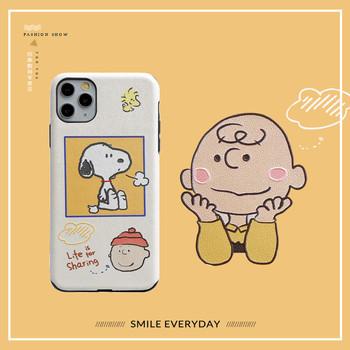 iphone11卡通苹果xr / xsmax手机壳