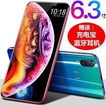 学生游戏指纹国产智能手机4G全网通X23新上市水滴刘海大屏超薄