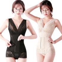 美人谣计显瘦塑全身内衣连体正品收腹束腰燃美体脂产后塑形女夏薄