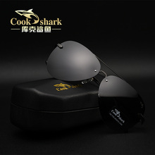 Cookshark Cook Shark Sunglasses Driver's and Driver's Mirror Polarized Sunglasses Chao Man Drives Toad Mirror