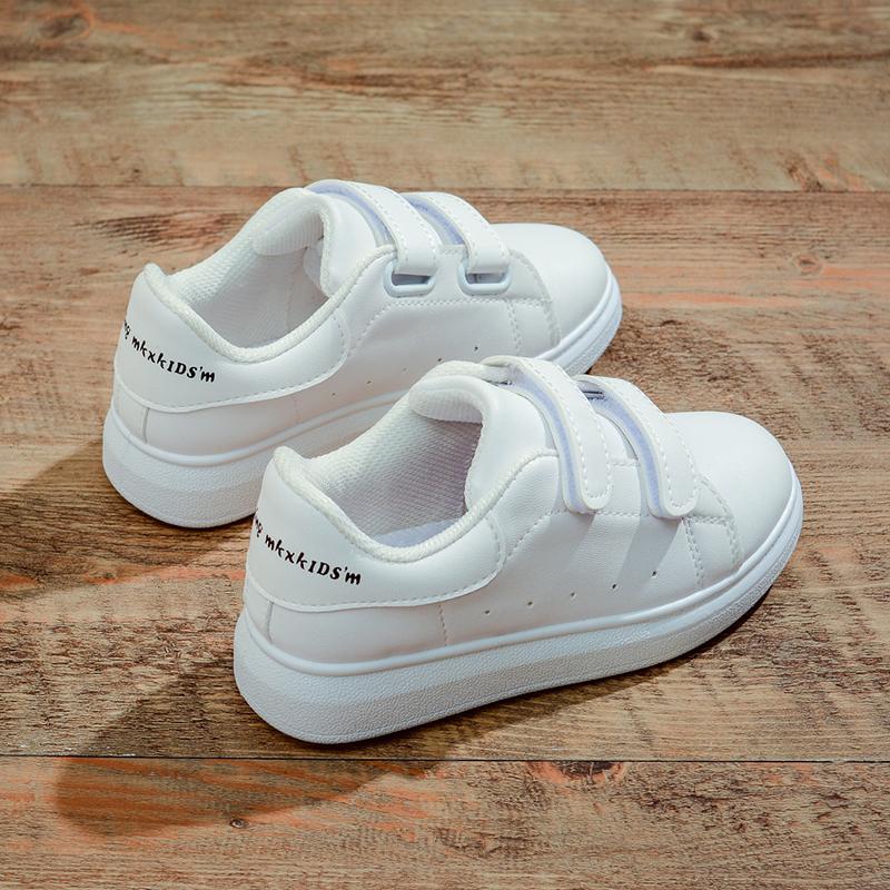 儿童小白鞋2019新款春夏韩版板鞋女童运动鞋透气防滑童鞋男童单鞋