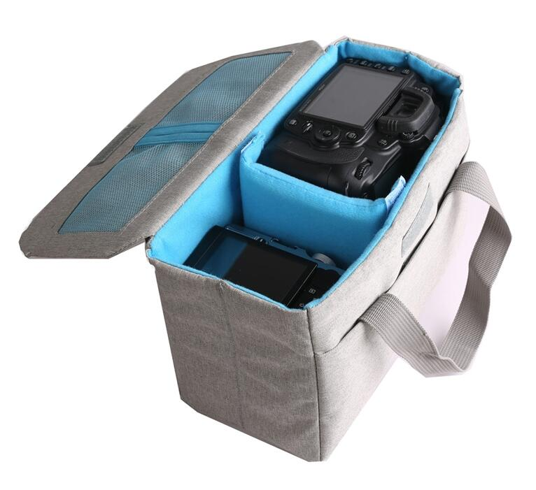 Backpacker bbk-wd portable folding liner thickened micro SLR camera storage bag portable photography bag inner bag