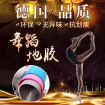 舞蹈地胶舞蹈房专用舞蹈教室地胶垫PVC专业运动地板革舞蹈室地垫