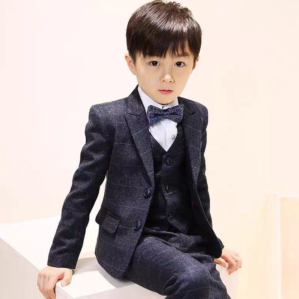 Boys suit British Fenghua childrens piano performance suit spring and autumn babys suit