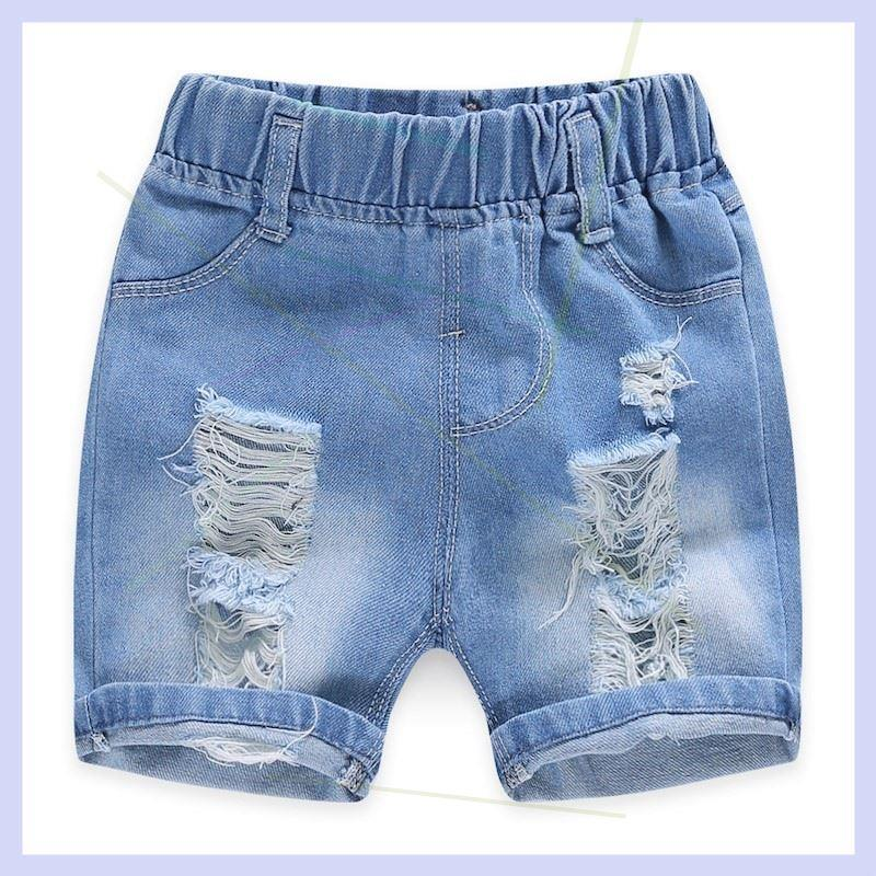 Hot selling 2019 denim shorts for boys and children