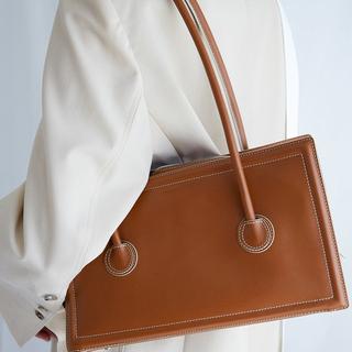 韩版小众设计简约腋下单肩包女2020夏季新款休闲百搭大容量托特包