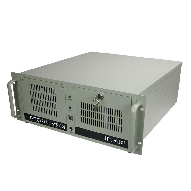 4U机架式工控机610L(8722)多串口多扩展兼容研华H81主板610L工业机箱