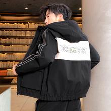 男士外套春秋季2020新款韩版潮流学生时尚工装夹克男装休闲上衣服