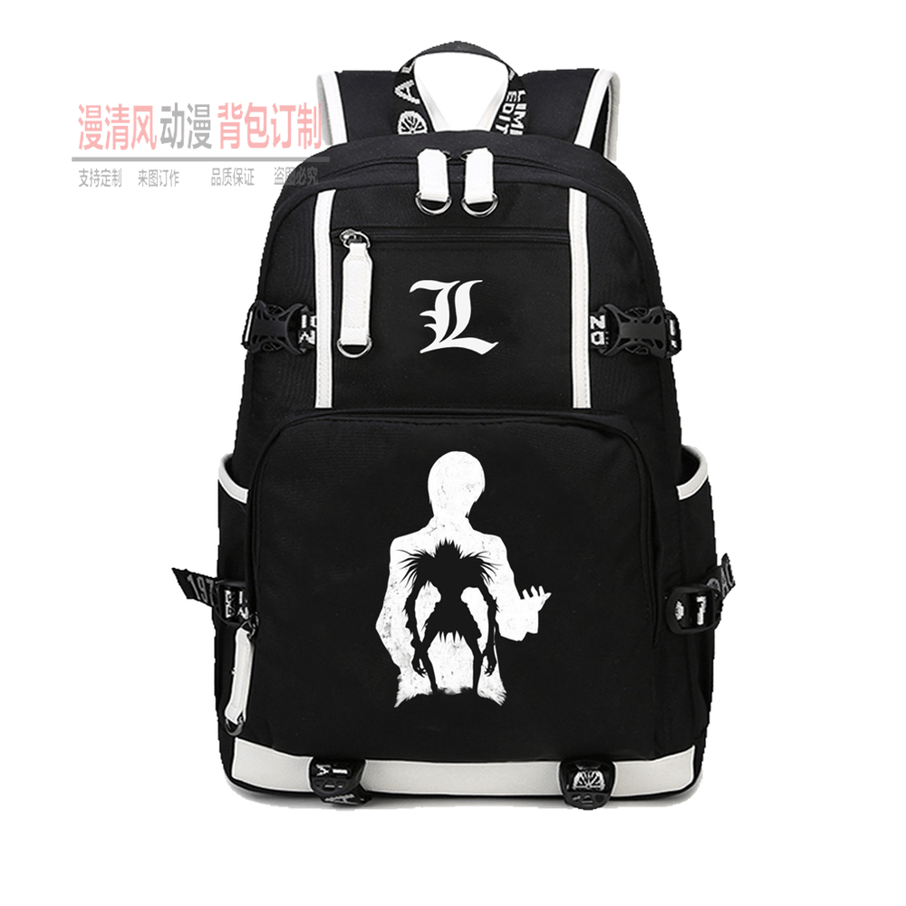 Death note backpack animation game peripheral business work bag student schoolbag Travel Backpack