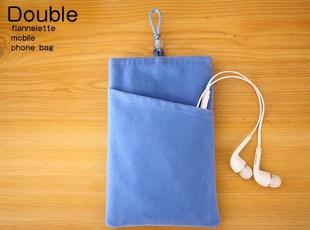 华为mate10手机包畅享6S畅玩7X手机袋子nova2s防冻绒布套小包包