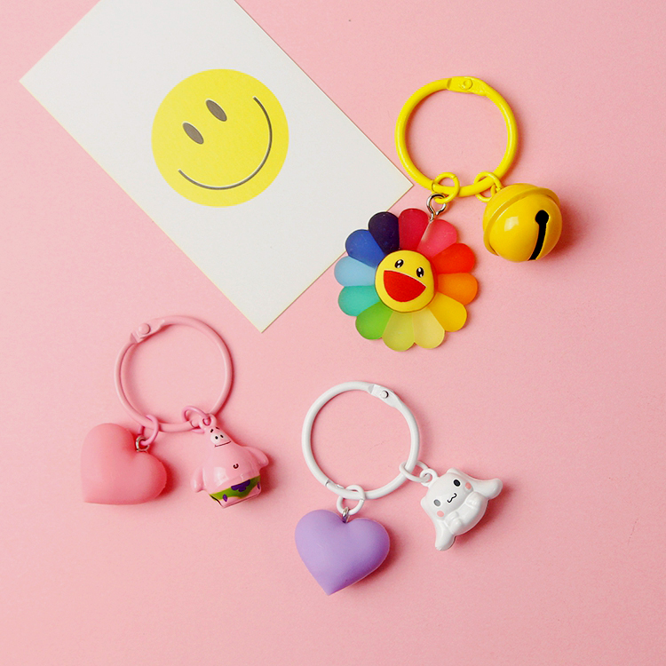 韩国ins卡通airpods蓝牙耳机保护套挂件可爱钥匙扣包包