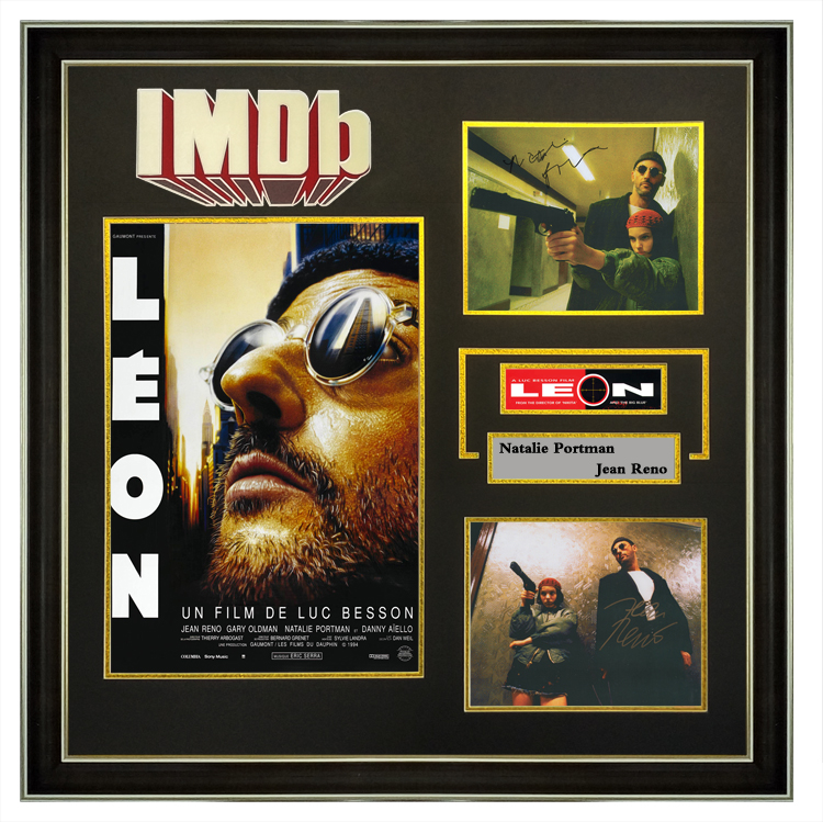 IMDB, the killer, is not too cold. Lets have Reno Tali Portman sign the photo with the certificate