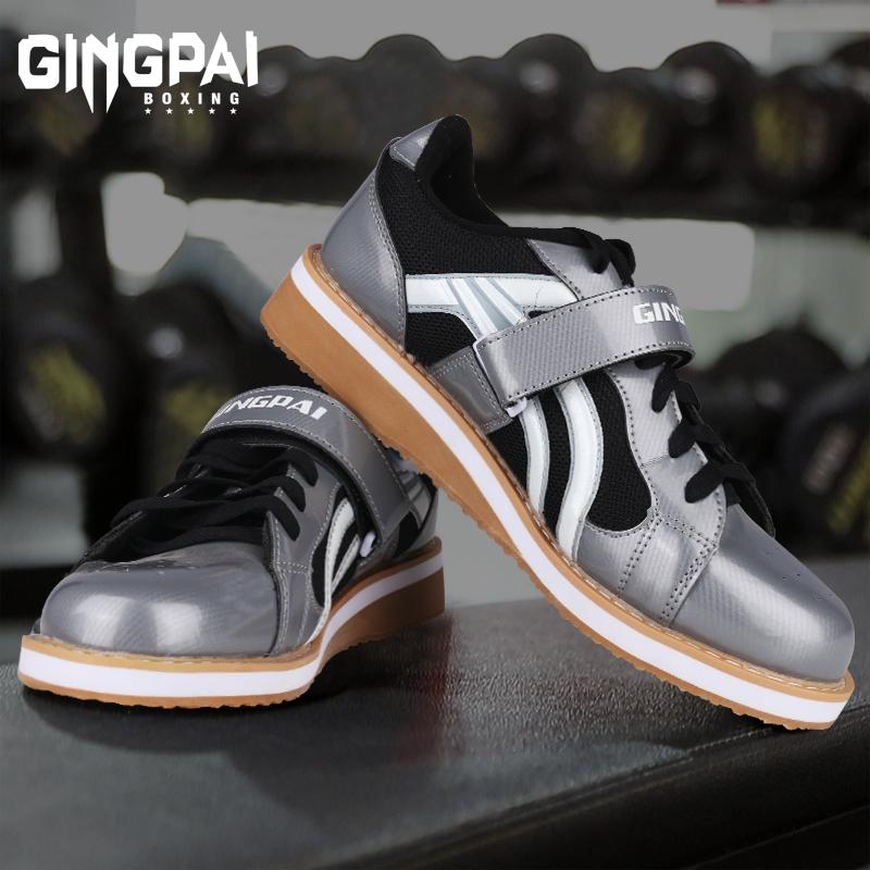 深蹲鞋男国产举重鞋专业室内健身运动综合训练鞋力量举支撑硬拉鞋