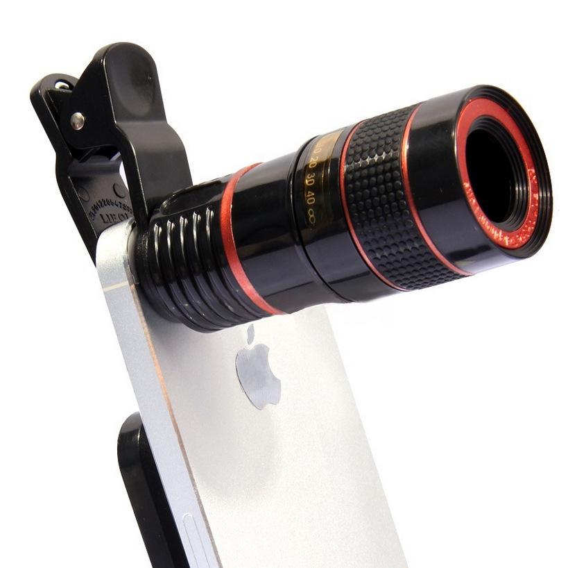 廣角8倍變焦 通用單反長焦8x高清調焦距 外置手機攝像拍照相鏡頭