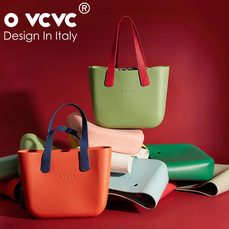 OVCVC女包2019新款硅胶包托特手提包大容量单肩C Bag长提手款
