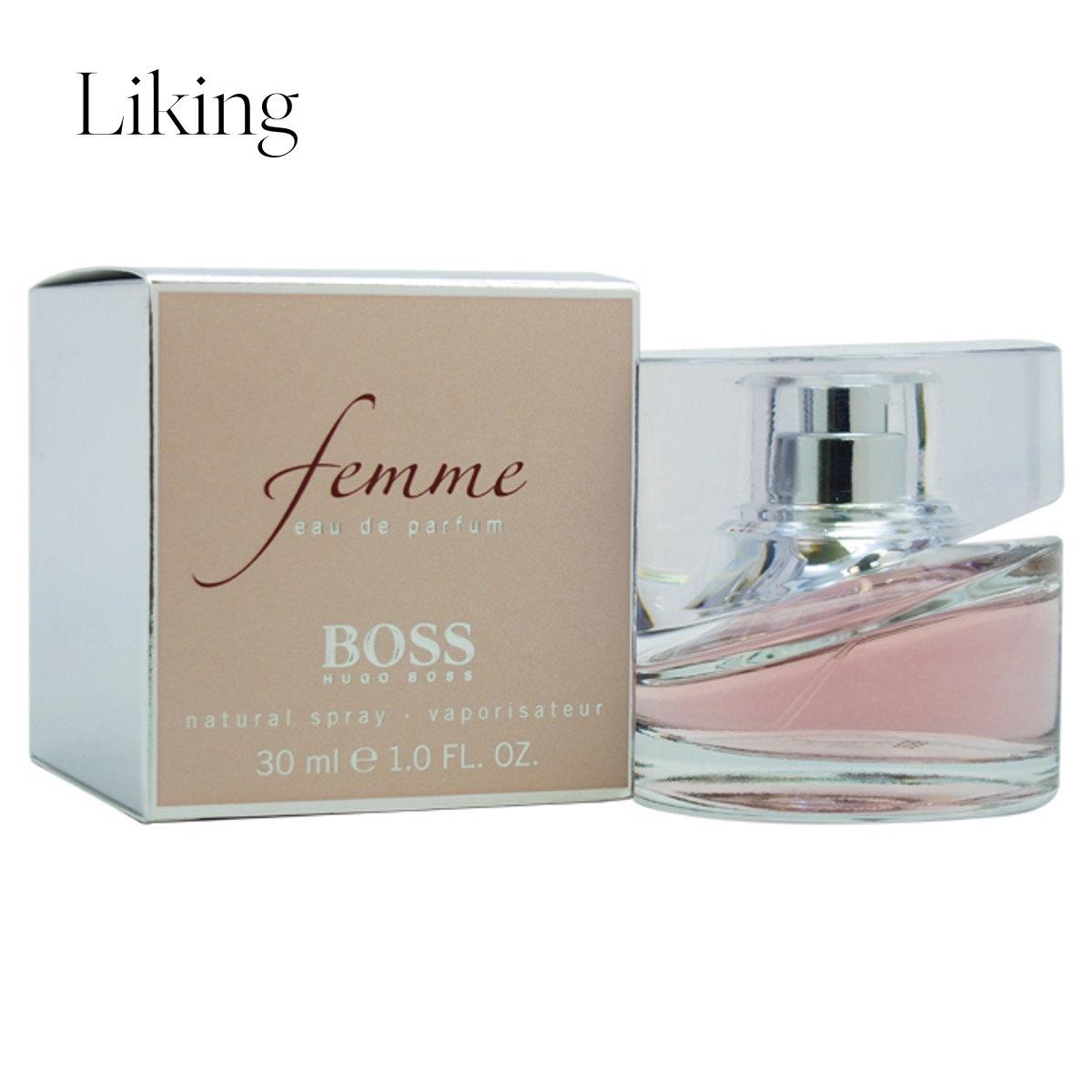 hugo boss Femme 魅力持久浓郁迷人女士浓香水EDP 30ml美国直邮
