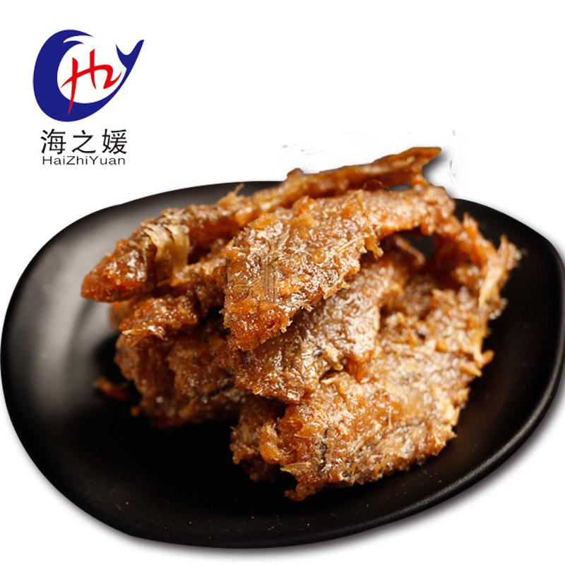 海之媛新款舟山特产香酥小黄鱼干黄花鱼海鲜零食海味即食熟食小吃