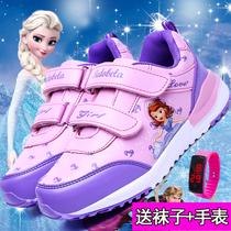 小骆驼断码清仓夏季女童单网鞋舒适轻便透气中大童公主学生休闲鞋
