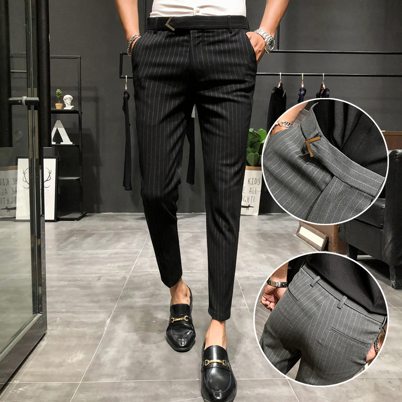 Mens pants thin casual pants in spring and summer