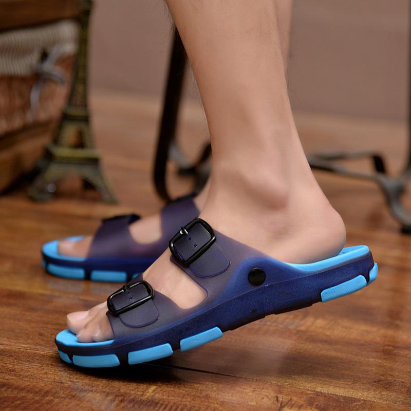 拖鞋男夏季凉鞋男士沙滩鞋凉拖鞋洞洞鞋防滑男一字拖潮鞋流行男鞋
