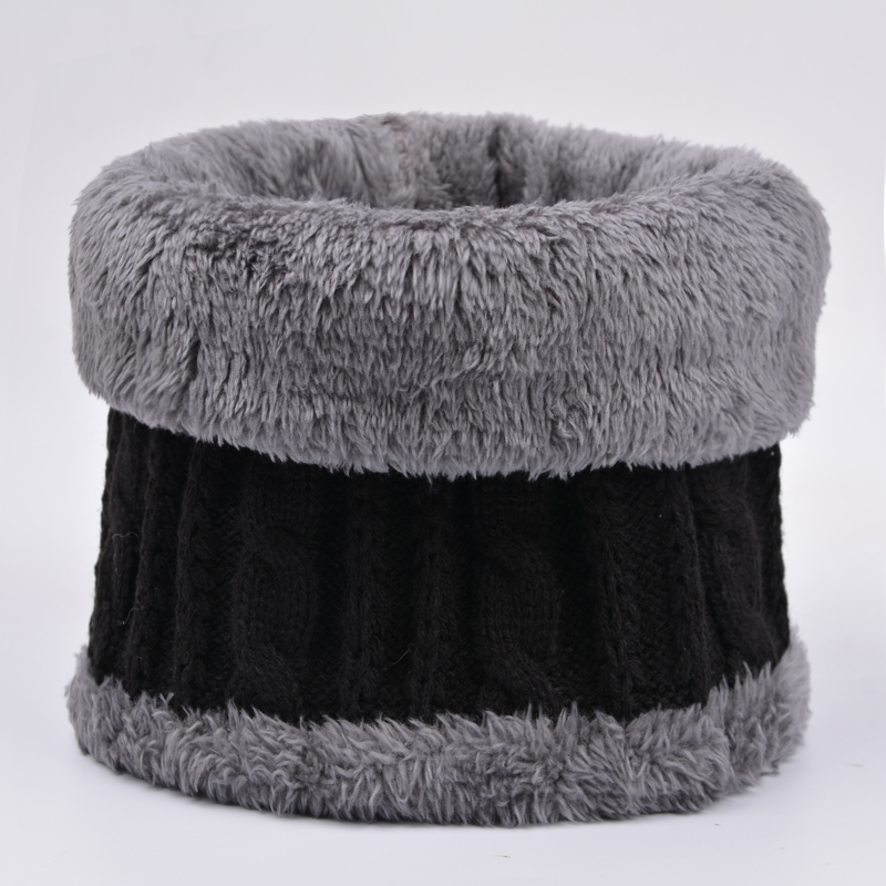 High collar collar collar with velvet thickening for middle-aged and elderly peoples warm collar collar collar for men and womens fake collar for outdoor use in autumn and winter