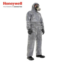 Honeywell Hooded Jumpsuit Protective clothing protection particulate matter and liquid limited splash dustproof clothing anti-wear clothing